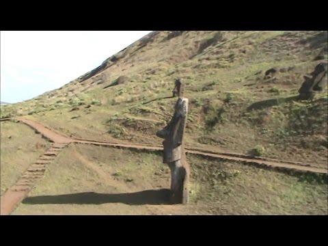 ईस्टर द्वीप - पत्थर की विशाल मूर्तियां