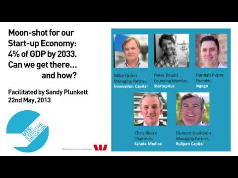 UTS: Executive Education. Entrepreneur Event:  22nd May, 2013