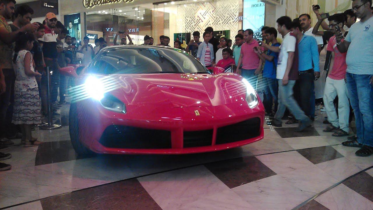 Supercars Kolkata Ferrari Aston Martin Lamborghini Judhajit Youtube