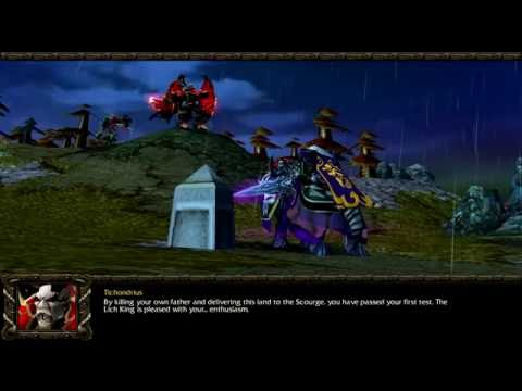 The story of Warcraft III: Reign of Chaos - Path of the Damned