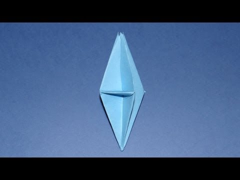how to make an origami 3d diamond youtube