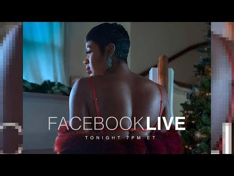 Fantasia sings #ChristmasAfterMidnight on Facebook live