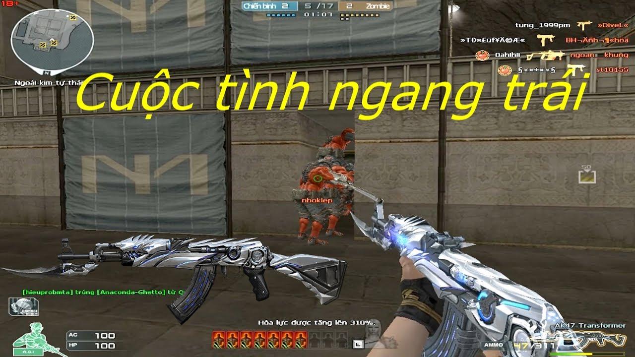 [ Bình Luận CF ] AK47-Transformer - Tiền Zombie v4
