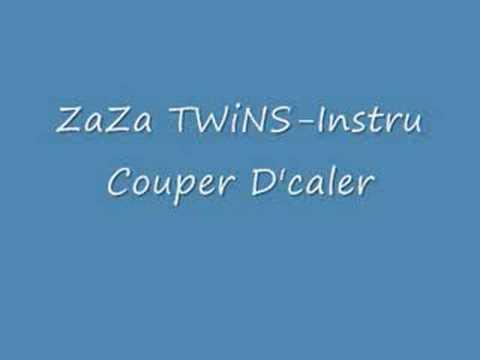 ZaZa Twins Instru coupe decale