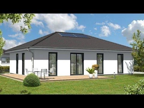 neubau eines bungalow 110 elegance kfw effizienzhaus 70 youtube. Black Bedroom Furniture Sets. Home Design Ideas