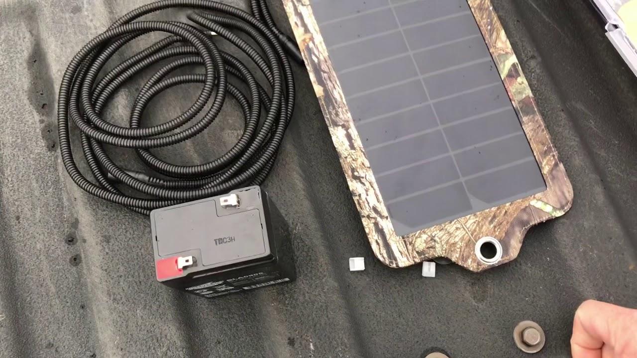 Dlc Covert Solar Panel Youtube
