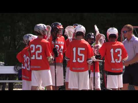 Middle School Lacrosse - BENJAMIN BUCCANEERS vs.  PALM BEACH DAY ACADEMY BULLDOGS - 3/28/18