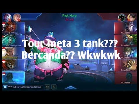 Tournament SF7 meta 3 tank?? Gila?? Iya gilaa wkwkwk