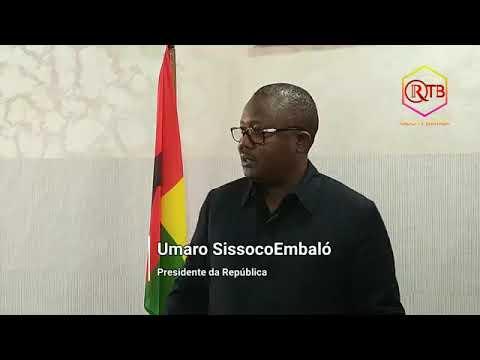 PR Umaro Sissoco Embaló, chega a Bissau proveniente de Nova lorque