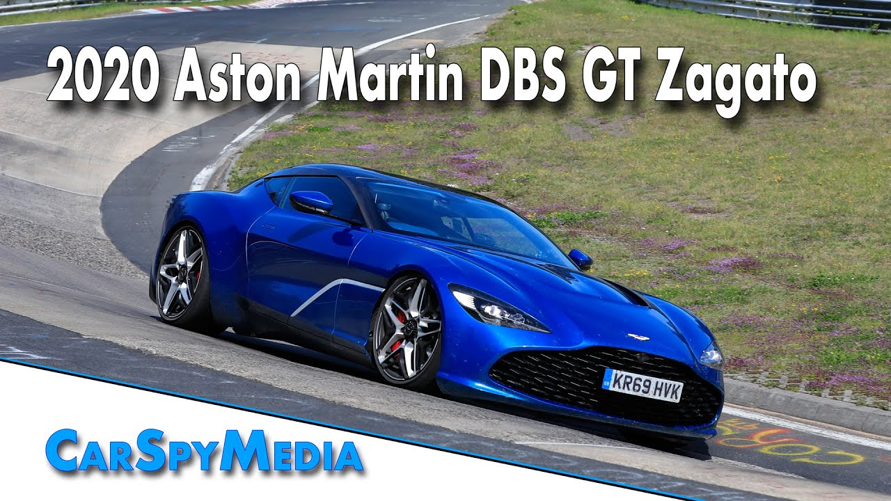 2020 Aston Martin Dbs Gt Zagato With V12 Sound On The Nürburgring Youtube