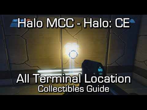 Halo MCC: Halo CEA - All Terminals Locations Guide - Dear Diary... Achievement