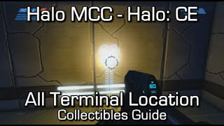 Halo MCC: Halo CEA - All Terminals Locations Guide - Dear Diary... Achievement
