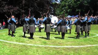 Antwerp & District Pipe Band Continentals 2015 Grade 2