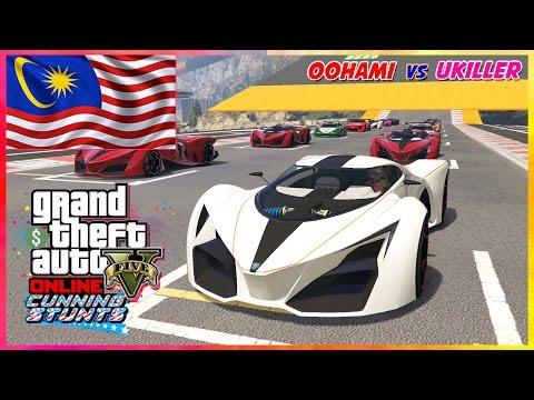 GTA 5 Online Malaysia || Vroom2!! Oohami vs Ukiller LAwan LUMBAAA~!! 👊👊