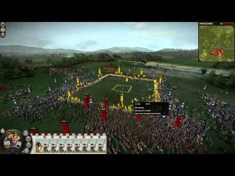 Shogun 2 - 6000 Cavalry vs. Long Yari Ashigaru (Massive Battle) |