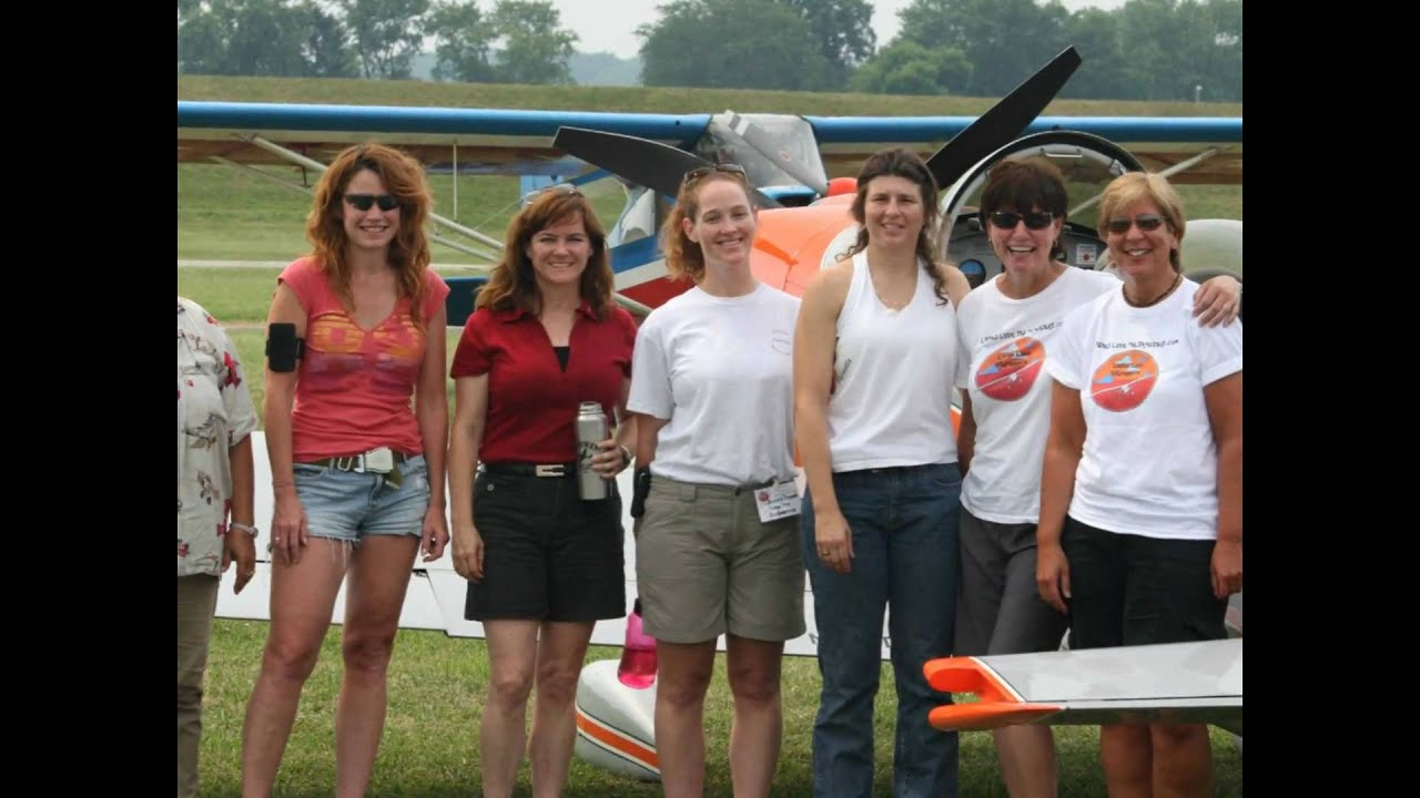 Ladies Love Taildraggers 2010 Flyin  YouTube