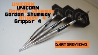 Unicorn Gripper 4 Gordon Shumway Darts   -  180 HD