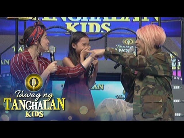 Tawag ng Tanghalan Kids: Vice treats Loujille