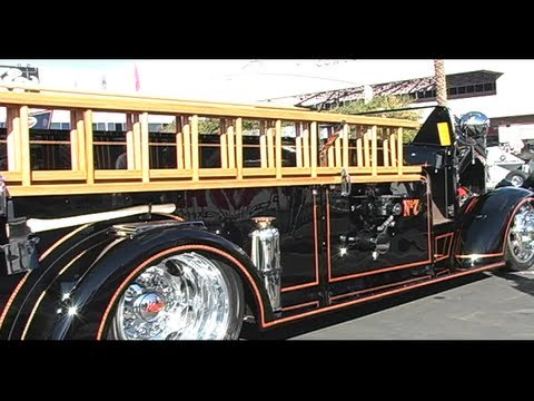 1944 Mack Antique Firetruck with Viper Engine at SEMA from Eastwood