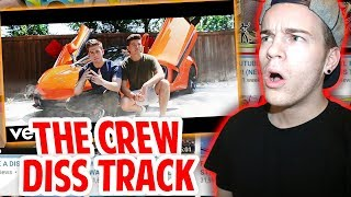 RÉAGIR à NOBOOM'S DISS TRACK AGAINST THE CREW!! (Roblox Diss Track)