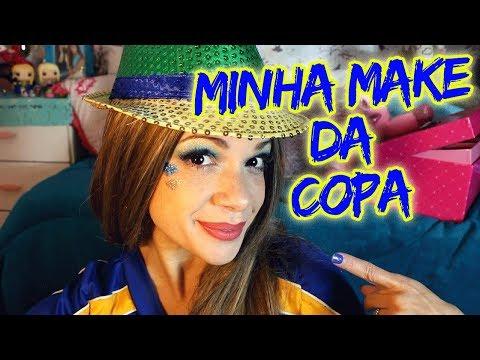 MAQUIAGEM DE PATRICINHA PARA A COPA by Ashley