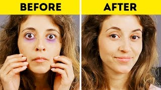 GENIUS MAKEUP HACKS EVERY GIRL SHOULD KNOW You don't have time to p...