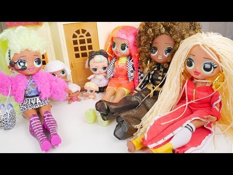 LOL Surprise New Lady Diva OMG Dolls with Barbie Ambulance Goldie