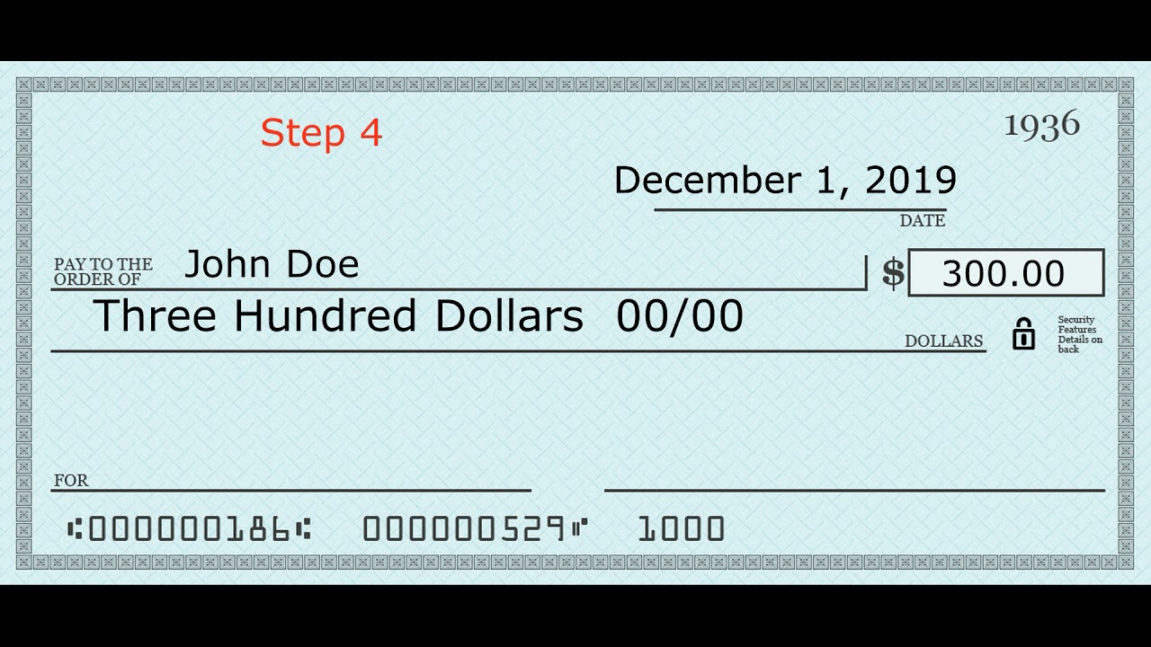 solved】How to write 17 on a check - How.co