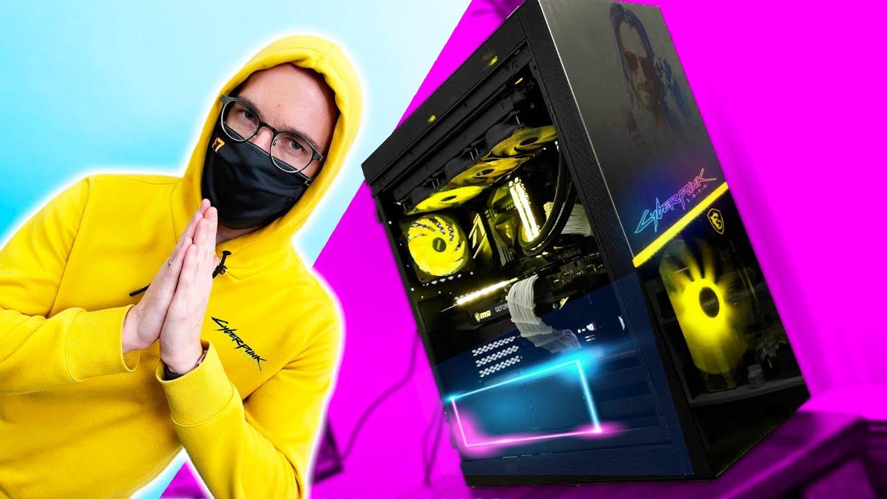 The CYBERPUNK 2077 Gaming PC BUILD