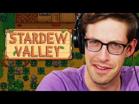 Keith Becomes A Farmer In Stardew Valley