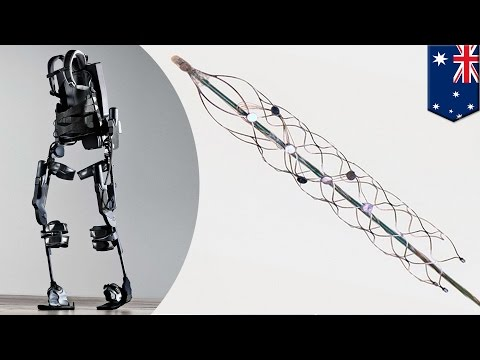 Mind control: Australian-made bionic spine moves robotic limbs using your thoughts - TomoNews