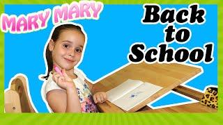 Снова в школу. Back to school. Собираем Мери в школу и хвастаемся партой Моблер.(, 2016-08-30T15:00:00.000Z)