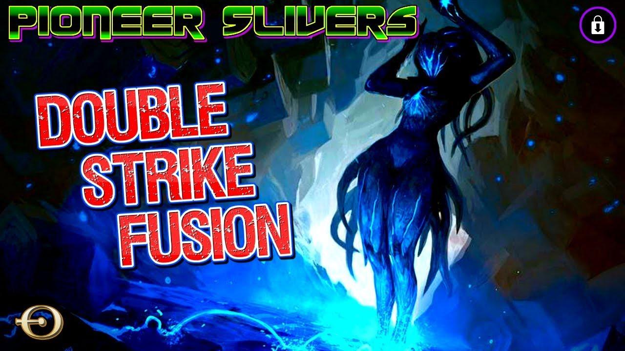 DOUBLE STRIKE FUSION! - 5C Slivers VS Jeskai Ascendancy Combo | PIONEER | MTGO Practice