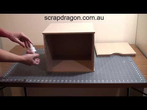 How To Assemble Scrap Dragon 12x12 Paper Storage Rack