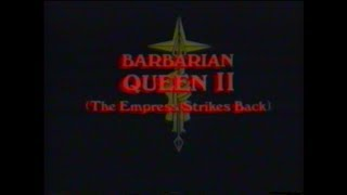 Barbarian Queen II (1990) - DEUTSCHER TRAILER