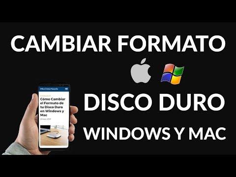 ¿Cómo Cambiar el Formato de tu Disco Duro en Windows y Mac?