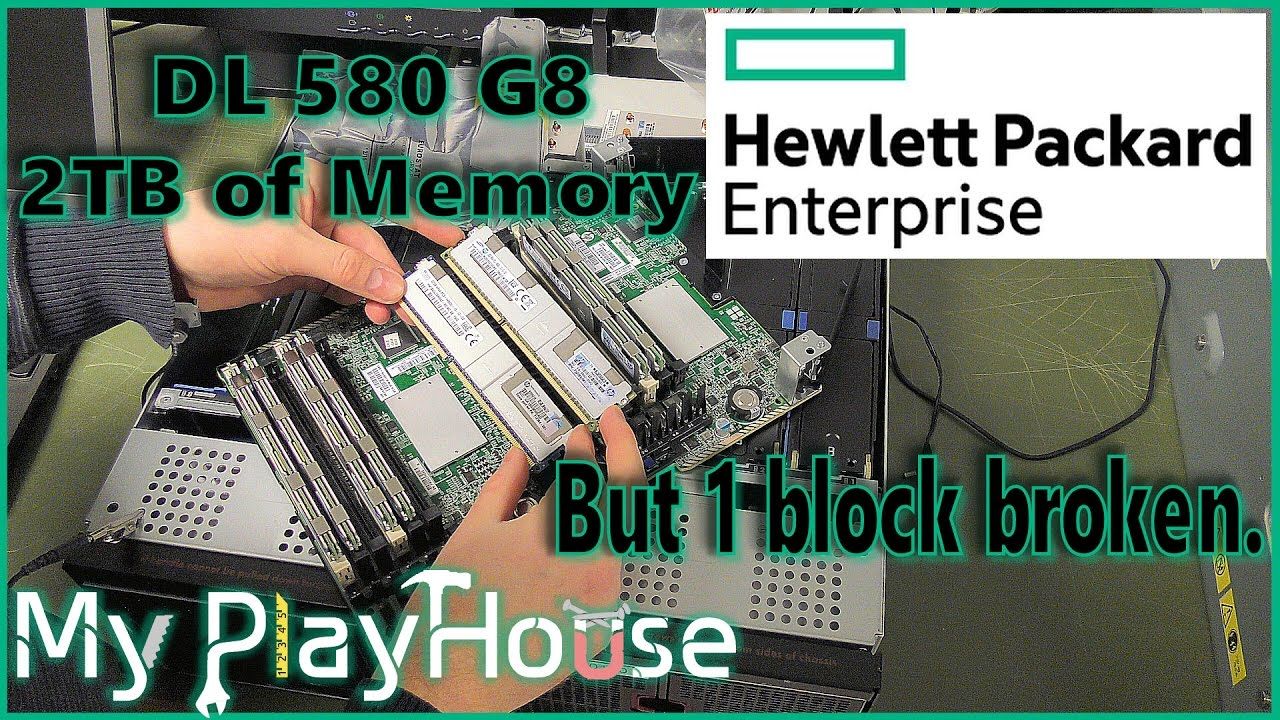 2TB Memory!! Fixing Memory Error - HPE dl580 G8 - 490