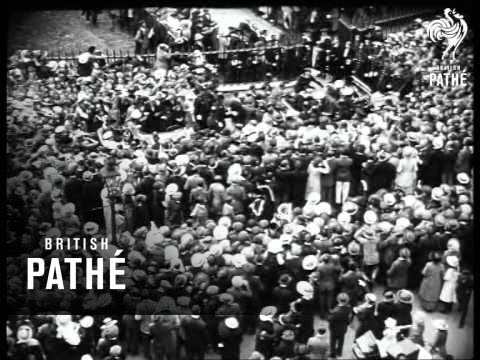 Prince Of Wales Arrives In U.S.A.  AKA Prince In America (1924)