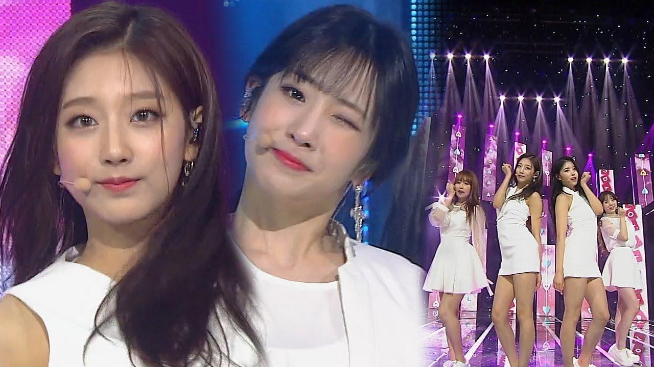 《HEALING SONG》 Lovelyz(러블리즈) - 그날의 너 @인기가요 Inkigayo 20180513