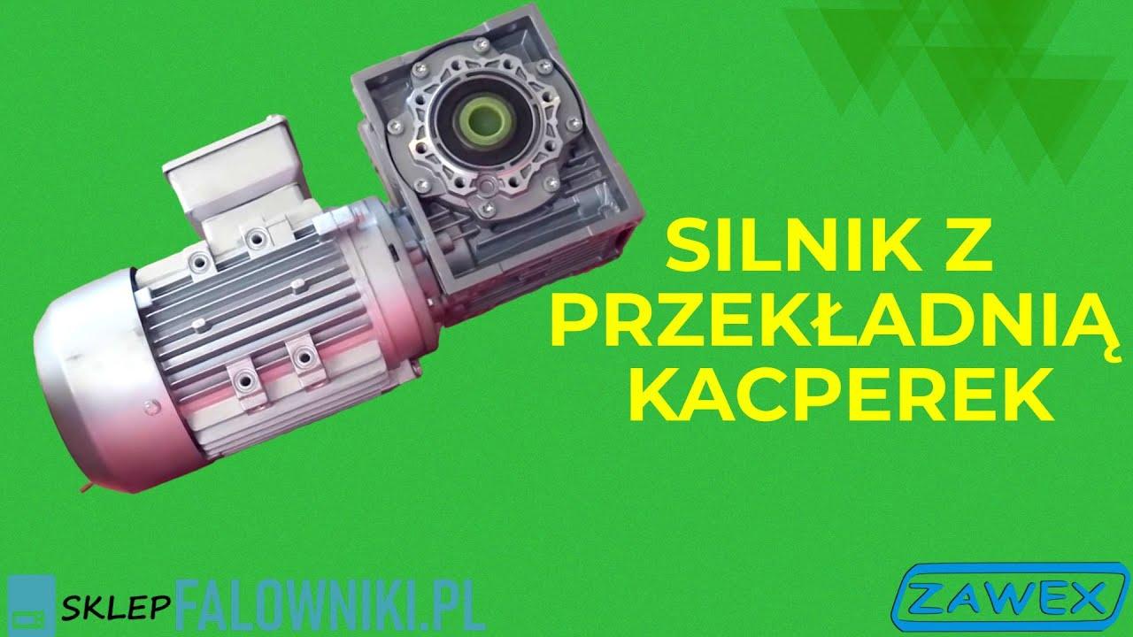 Niesamowite Silnik z przekładnią Kacperek (www.sklepfalowniki.pl) - YouTube VX39