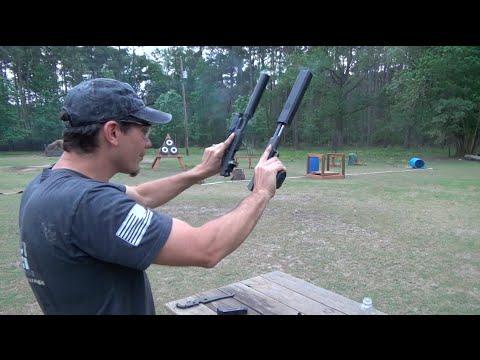 Griffin Armament Revolution .45 ACP Suppressor Review and Osprey Comparison