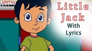 Little Jack with Lyrics    Popular English Nursery Rhymes for Kids