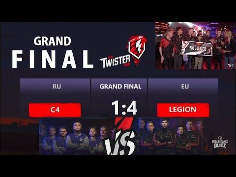 ► C4 (1) vs (4) LGN [GRAND FINAL] ⚡ Blitz Twister Cup 2017
