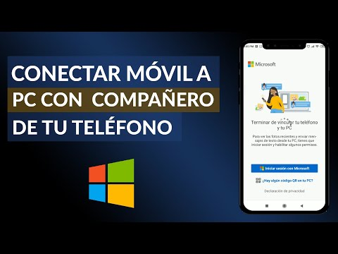 Cómo Conectar tu Móvil a tu PC con Compañero de Tu Teléfono - Your Phone Companion