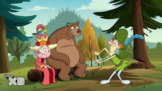 The 7D - Funny Lord Starchbottom Dance - Official Disney XD UK HD