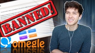I GOT BANNED!? - OMEGLE