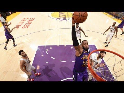 NBA New Orleans Pelicans vs Los Angeles Lakers   Dec 21,  2018