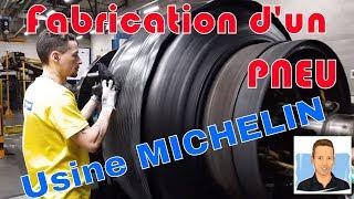 Visite de l'Usine Michelin de Troyes : Fabrication d'un Pneu agricole.