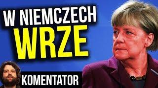 W Niemczech Wrze - Telewizja Publiczna Złapana na Kłamaniu o Protestach - Komentator