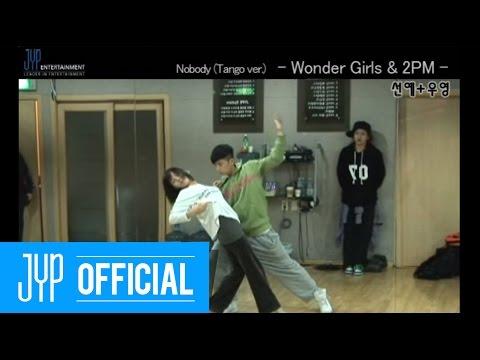 "[Undisclosed clip] Wonder Girls & 2PM ""Nobody Tango ver."" MKMF2008 #4"